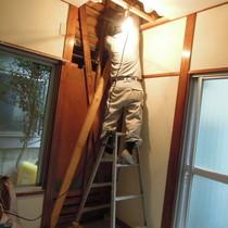 Kアパート耐震補強2期工事【世田谷区】(アパート住戸リフォーム、断熱材充填)