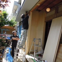Yアパート耐震補強2期工事【世田谷区】(インプラス設置、断熱材充填)